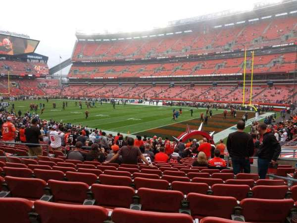 FirstEnergy Stadium, section: 139, row: 17, seat: 12