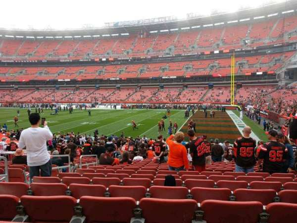 FirstEnergy Stadium, section: 138, row: 18, seat: 5