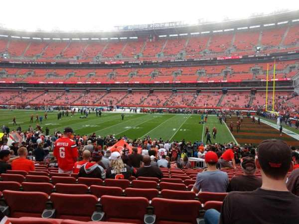 FirstEnergy Stadium, section: 137, row: 19, seat: 10
