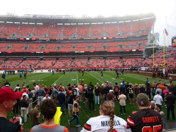 FirstEnergy Stadium, section: 136, row: 3, seat: 8