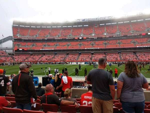 FirstEnergy Stadium, section: 134, row: 7, seat: 14