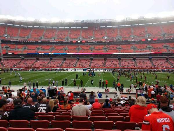 FirstEnergy Stadium, section: 134, row: 17, seat: 17