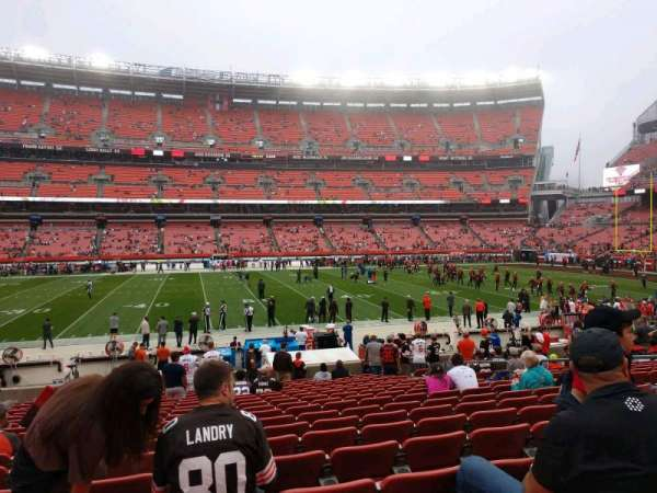 FirstEnergy Stadium, section: 133, row: 18, seat: 12