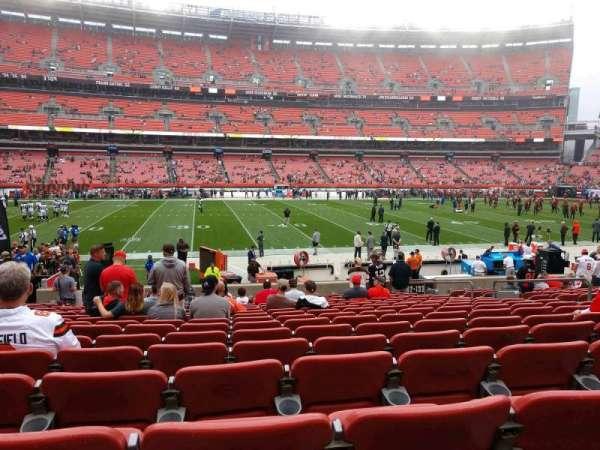 FirstEnergy Stadium, section: 132, row: 16, seat: 12