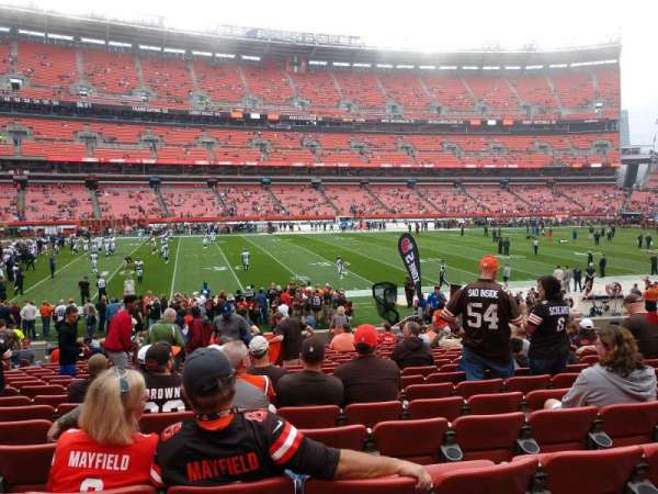 FirstEnergy Stadium, section: 131, row: 18, seat: 10
