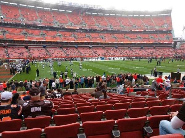 FirstEnergy Stadium, section: 130, row: 15, seat: 16