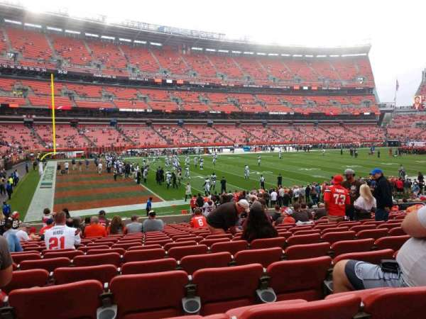 FirstEnergy Stadium, section: 129, row: 19, seat: 12