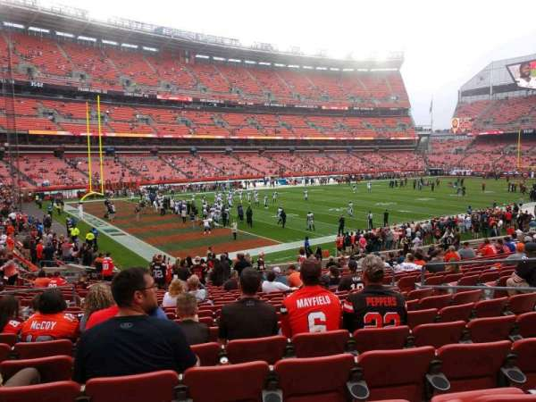 FirstEnergy Stadium, section: 127, row: 21, seat: 10