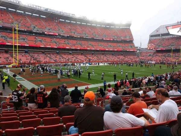 FirstEnergy Stadium, section: 127, row: 13, seat: 8