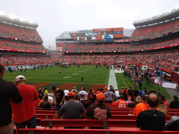 FirstEnergy Stadium, section: 122, row: 13, seat: 14