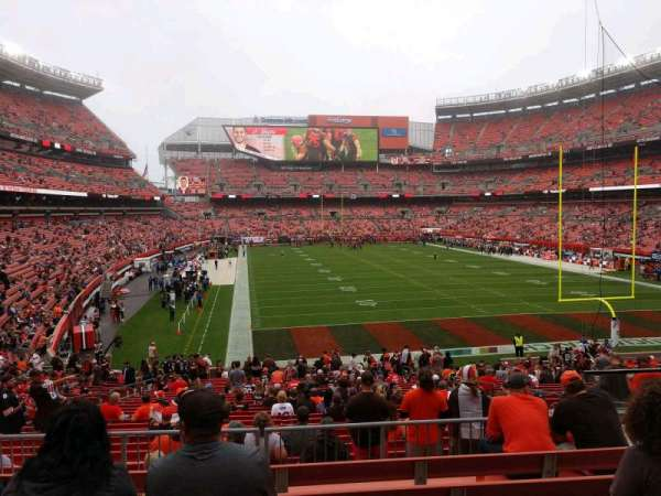 FirstEnergy Stadium, section: 118A, row: 28, seat: 19