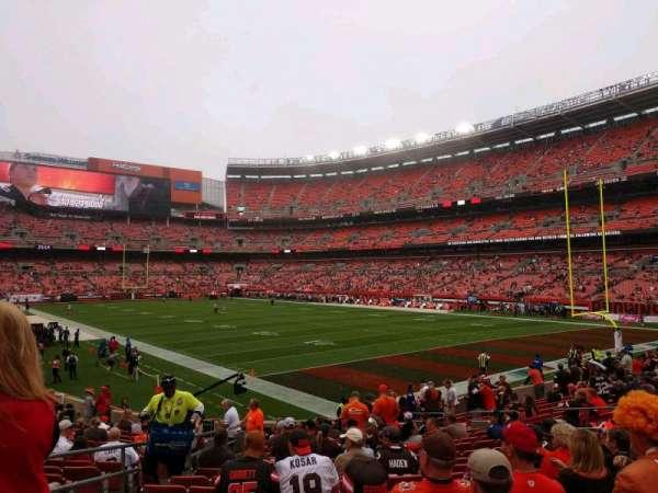 FirstEnergy Stadium, section: 117, row: 17, seat: 5