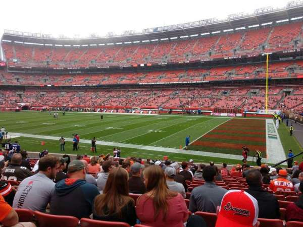 FirstEnergy Stadium, section: 113, row: 17, seat: 13