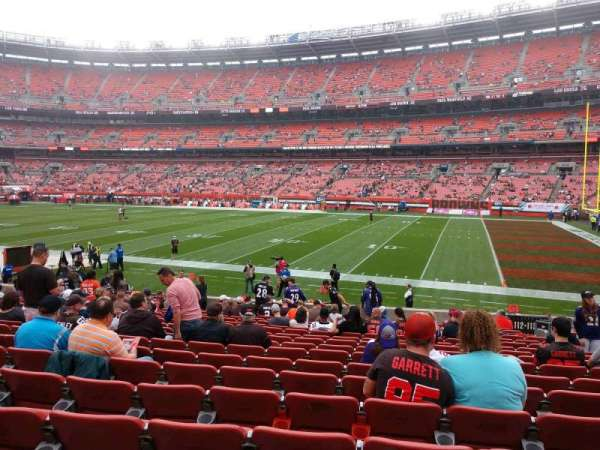 FirstEnergy Stadium, section: 112, row: 17, seat: 15