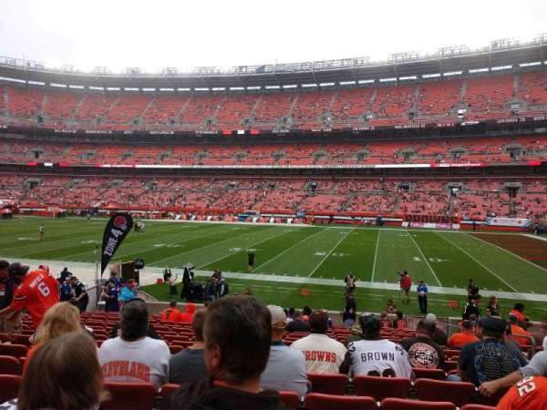 FirstEnergy Stadium, section: 111, row: 17, seat: 16