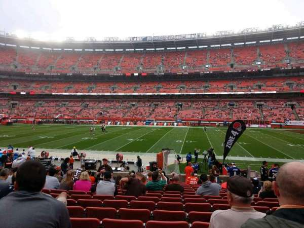FirstEnergy Stadium, section: 110, row: 16, seat: 16