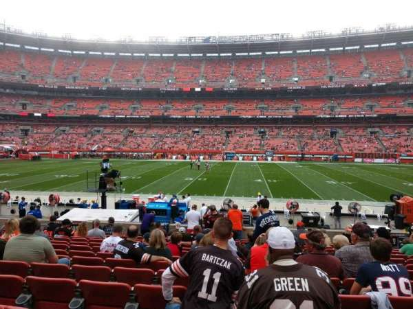 FirstEnergy Stadium, section: 109, row: 14, seat: 13