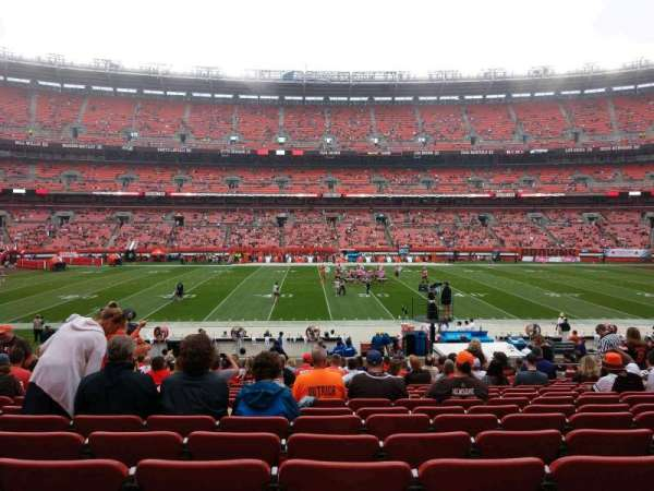 FirstEnergy Stadium, section: 108, row: 21, seat: 11