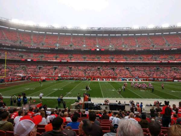FirstEnergy Stadium, section: 107, row: 17, seat: 17