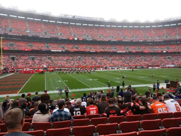FirstEnergy Stadium, section: 105, row: 15, seat: 13