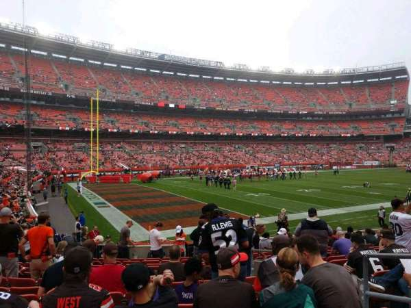 FirstEnergy Stadium, section: 102, row: 13, seat: 18