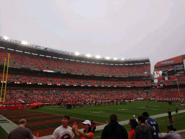 FirstEnergy Stadium, section: 102, row: 5, seat: 9