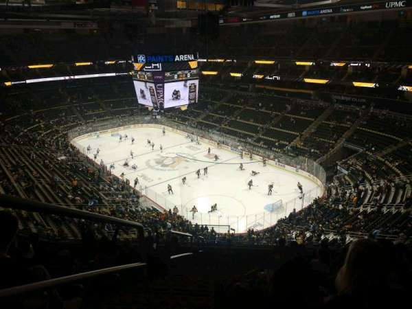 PPG Paints Arena, section: 231, row: J, seat: 19