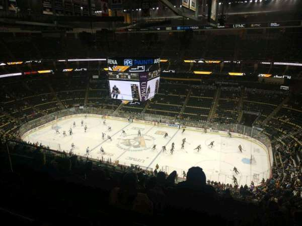 PPG Paints Arena, section: 234, row: M, seat: 16