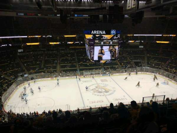 PPG Paints Arena, section: 204, row: G, seat: 8