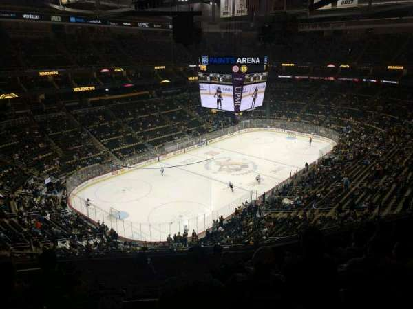 PPG Paints Arena, section: 207, row: H, seat: 14
