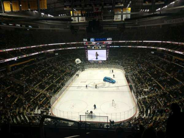 PPG Paints Arena, section: 210, row: G, seat: 17