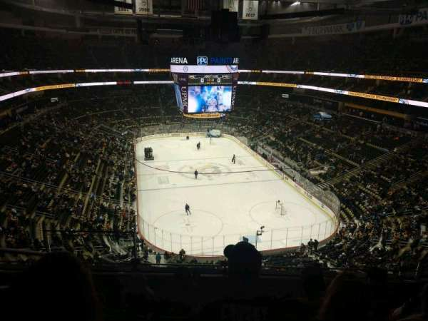 PPG Paints Arena, section: 212, row: E, seat: 15