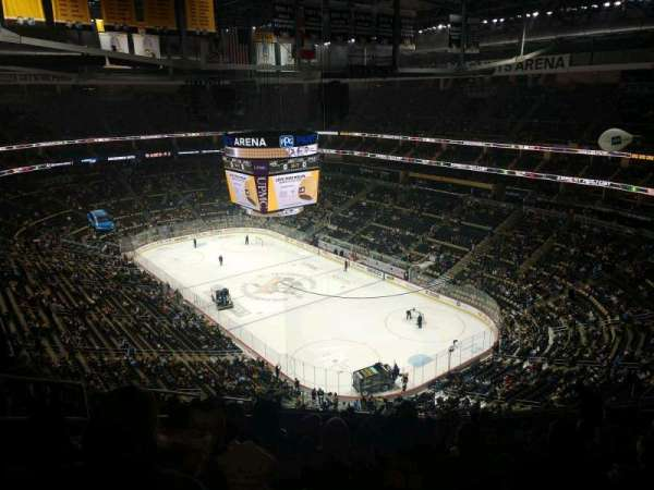 PPG Paints Arena, section: 214, row: P, seat: 17