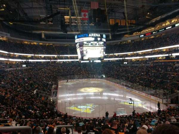 PPG Paints Arena, section: 119, row: CC, seat: 13