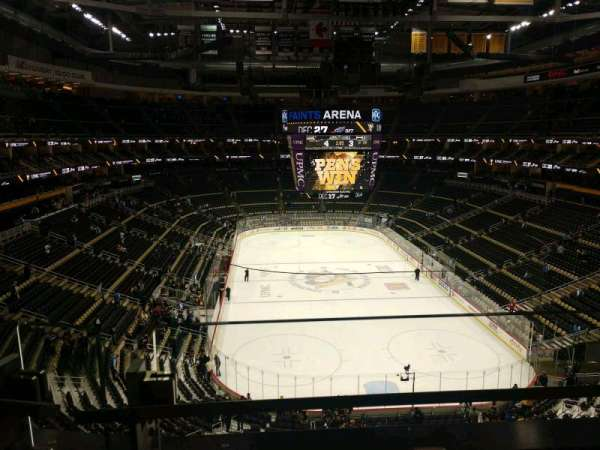 PPG Paints Arena, section: 229, row: A, seat: 7