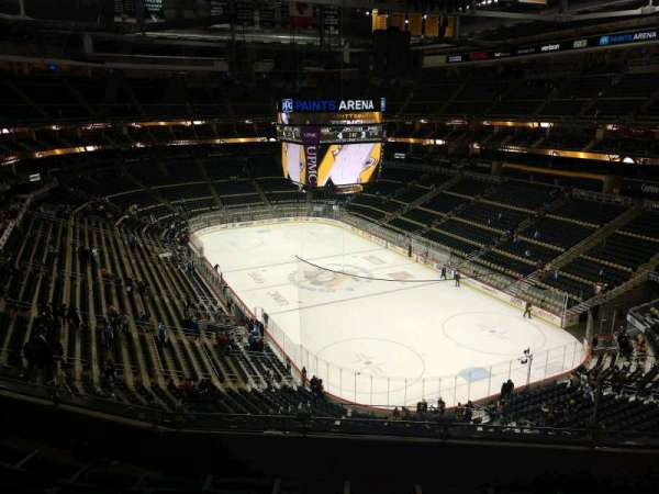 PPG Paints Arena, section: 231, row: E, seat: 4