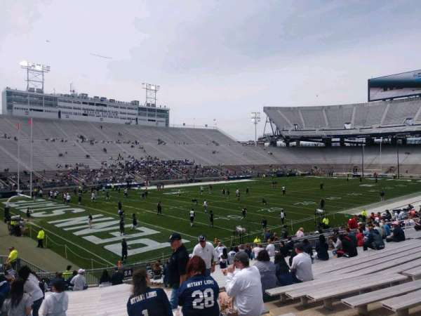 Beaver Stadium, section: SA, row: 27, seat: 14