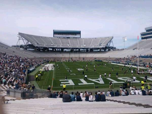Beaver Stadium, section: SG, row: 28, seat: 22