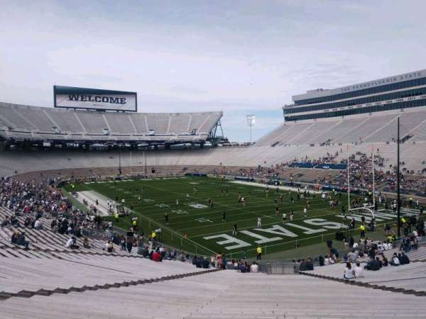 Beaver Stadium, section: SJ, row: 47, seat: 27