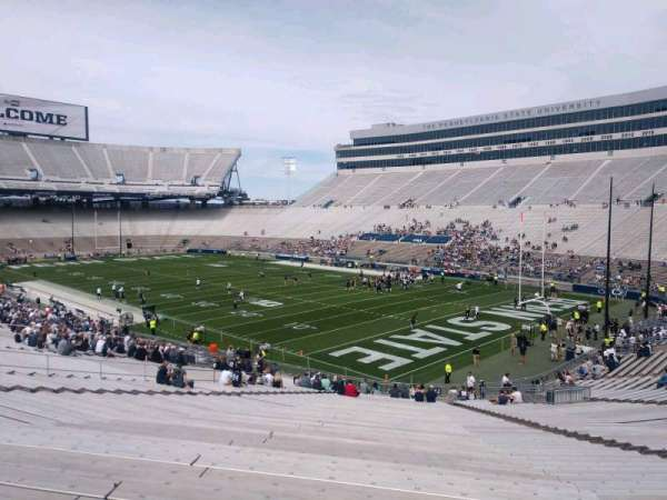 Beaver Stadium, section: SJ, row: 48, seat: 28