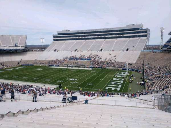 Beaver Stadium, section: WAU, row: 60, seat: 15