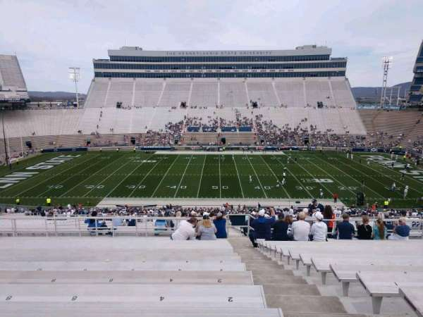 Beaver Stadium, section: WEU, row: 58, seat: 2
