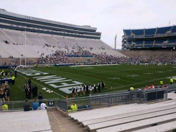 Beaver Stadium, section: NA, row: 20, seat: 4