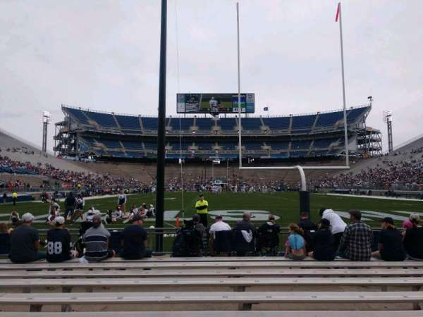 Beaver Stadium, section: NF, row: K, seat: 24
