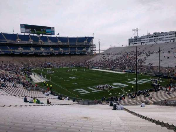 Beaver Stadium, section: NJ, row: 49, seat: 14