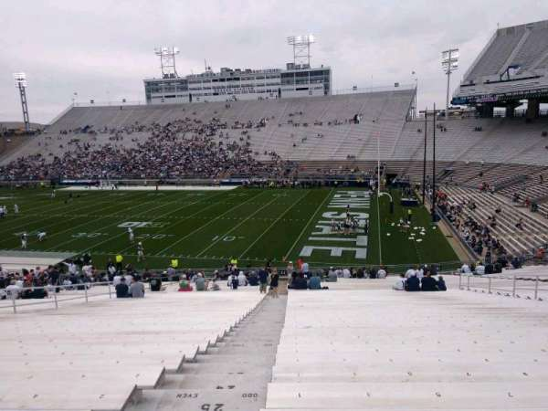 Beaver Stadium, section: EJ, row: 30, seat: 1