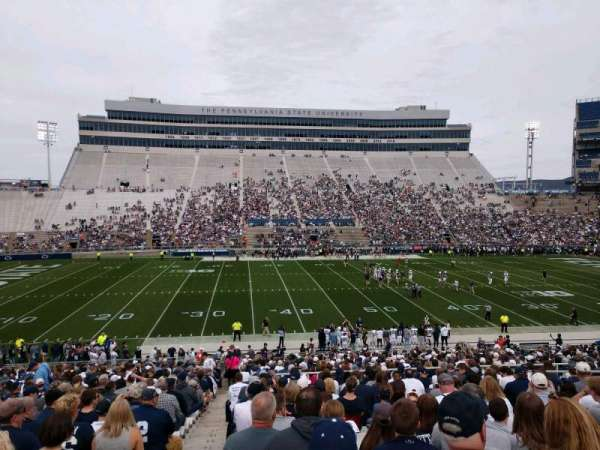 Beaver Stadium, section: WF, row: 27, seat: 1