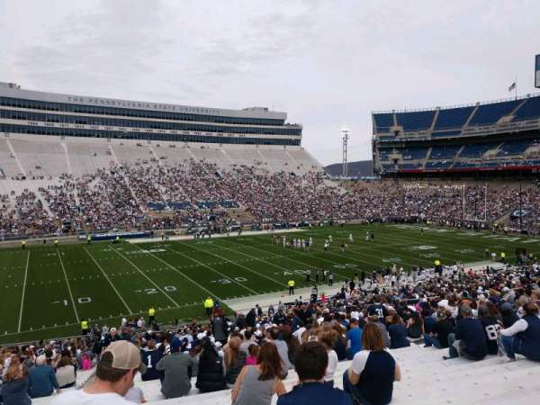 Beaver Stadium, section: WH, row: 30, seat: 3