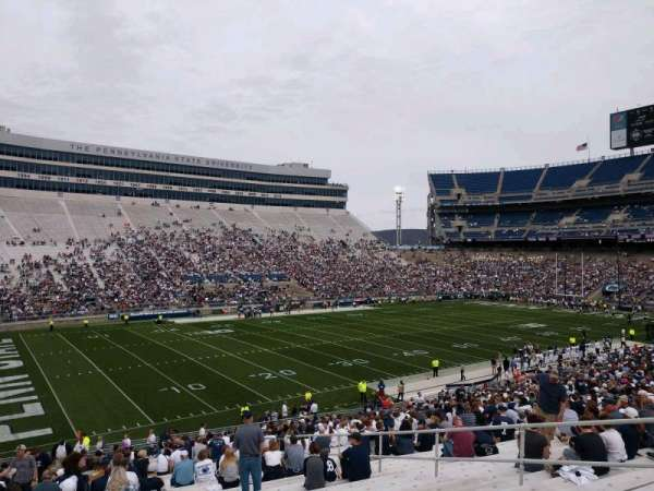 Beaver Stadium, section: WJ, row: 25, seat: 5