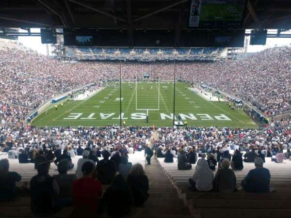 Beaver Stadium, section: NF, row: 60, seat: 2